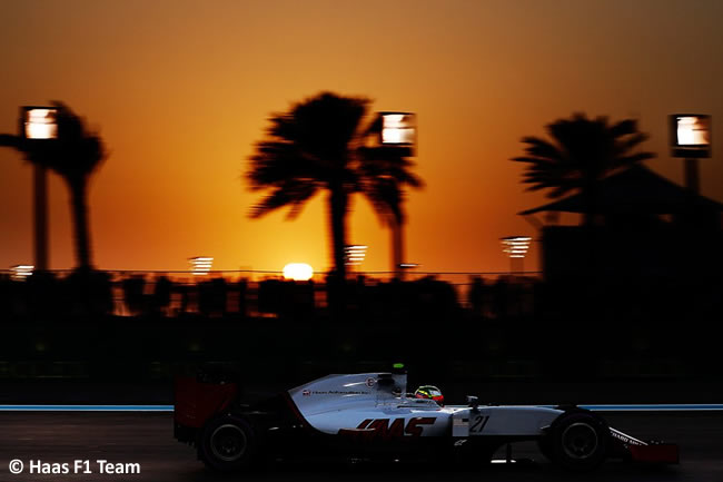 Esteban Gutiérrez - Haas F1 - Calificación GP Abu Dhabi 2016