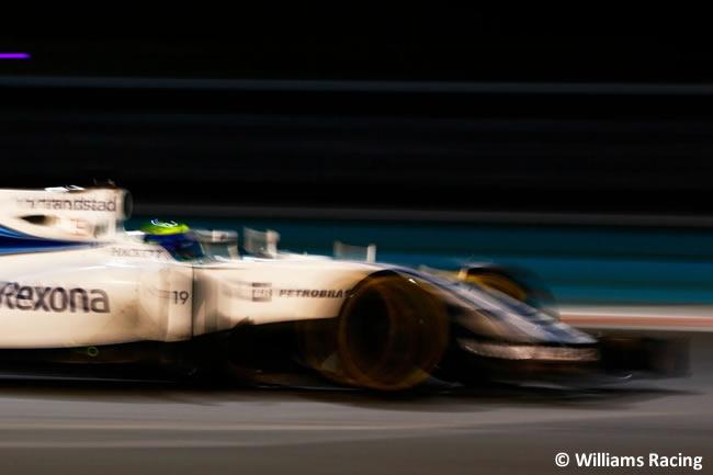 Felipe Massa - Carrera GP Abu Dhabi 2016