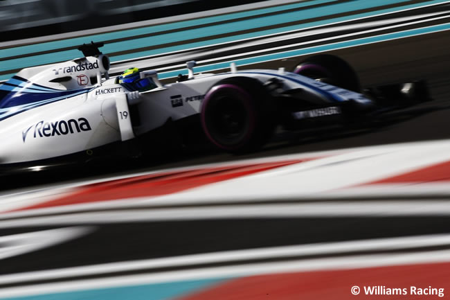 Felipe Massa - Williams - Calificación GP Abu Dhabi 2016