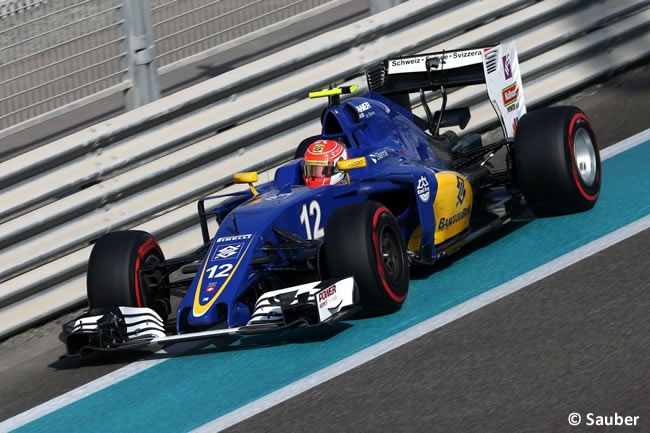Felipe Nasr - Sauber - Calificación GP Abu Dhabi 2016