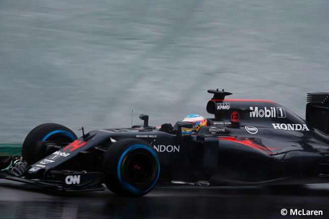 Fernando Alonso - McLaren - GP Brasil 2016 - Domingo