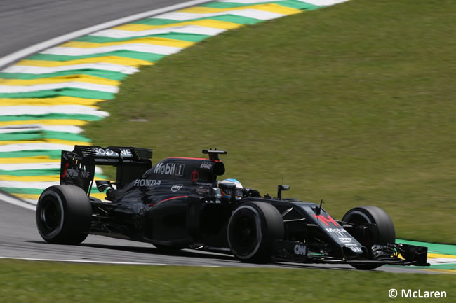 Fernando Alonso - McLaren - GP Brasil 2016 - Sábado