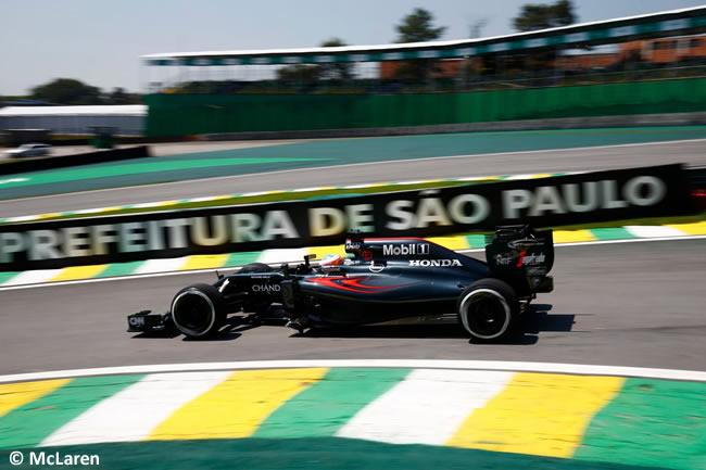 Fernando Alonso - McLaren - GP Brasil 2016 - Viernes