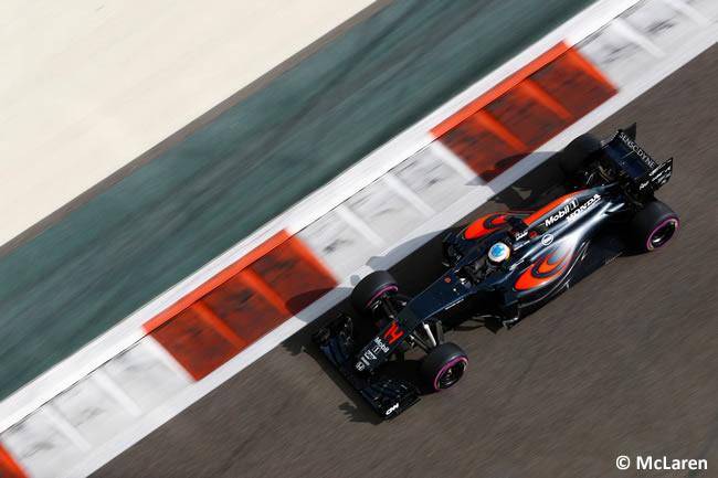 Fernando Alonso - McLaren - Calificación GP Abu Dhabi 2016