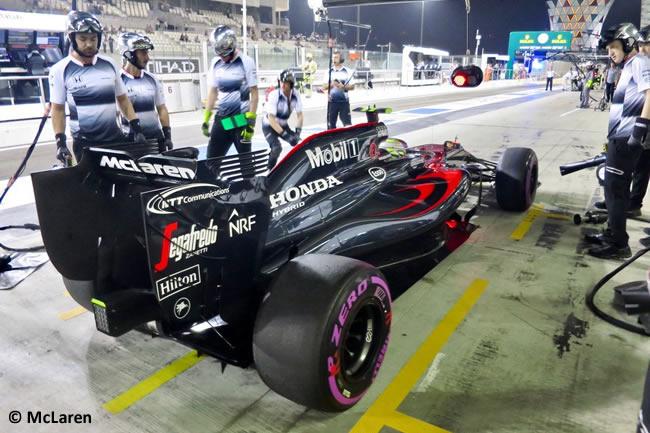 Jenson Button - McLaren - GP de Abu Dhabi