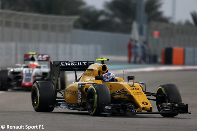 Jolyon Palmer - Renault Sport - Carrera GP Abu Dhabi 2016