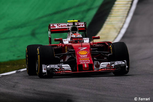 Kimi Raikkonen - Scuderia Ferrari - GP Brasil 2016 - Sábado