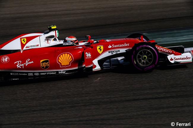 Kimi Raikkonen - Scuderia Ferrari - Calificación GP Abu Dhabi 2016