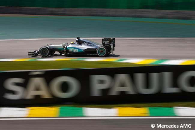 Lewis Hamilton - Mercedes AMG - GP Brasil 2016 - Sábado