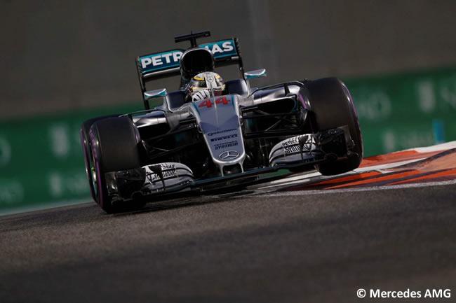 Lewis Hamilton - Mercedes AMG - Pole - Calificación GP Abu Dhabi 2016