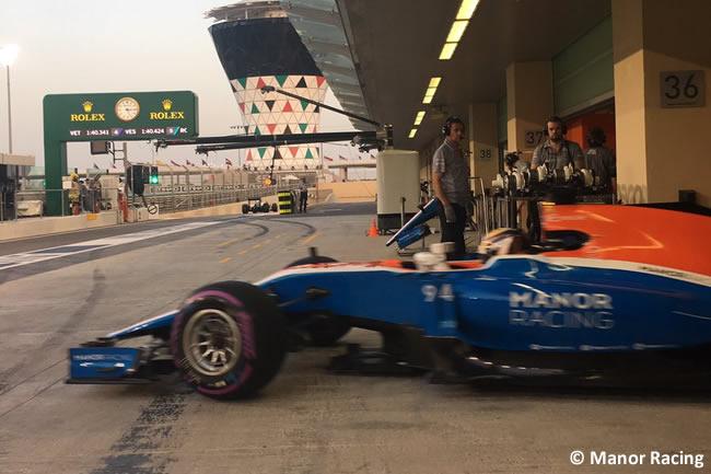 Manor Racing - Calificación GP Abu Dhabi 2016