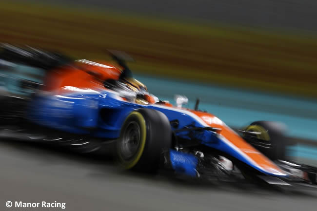 Manor Racing - GP de Abu Dhabi