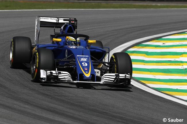 Marcus Ericsson - Sauber - GP Brasil 2016 - Viernes