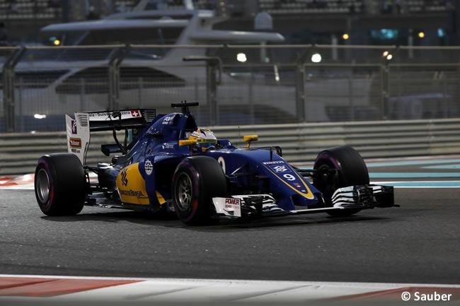 Marcus Ericsson - Sauber - GP de Abu Dhabi