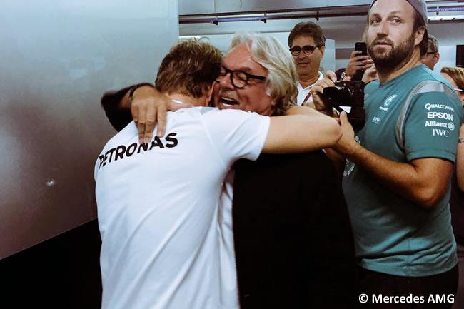 Nico Rosberg - Keke Rosberg - Campeón 2016