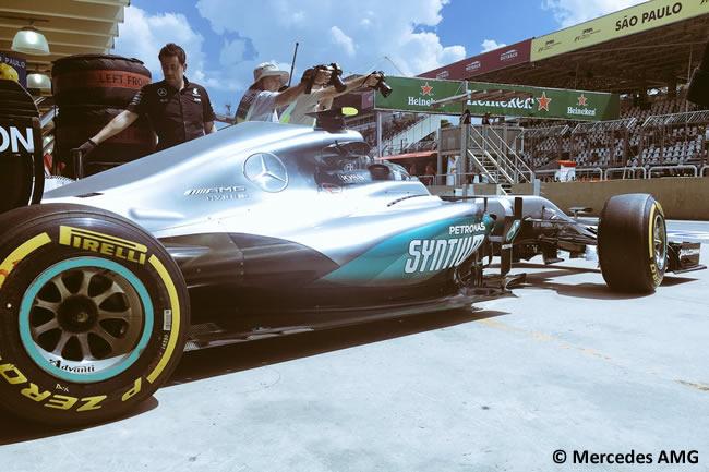 Nico Rosberg - Mercedes AMG - GP Brasil 2016 - Viernes