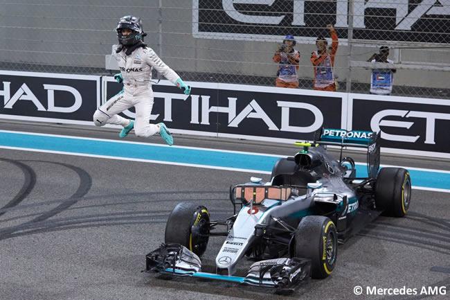 Nico Rosberg - Mercedes AMG - Gana Campeonato 2016 - GP Abu Dhabi 2016