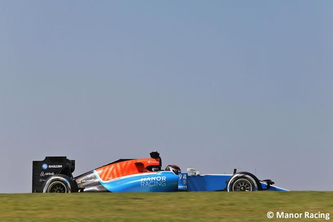 Pascal Wehrlein - Manor Racing - GP Brasil 2016 - Viernes