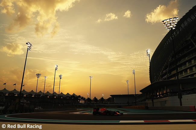 Red Bull Racing - GP de Abu Dhabi