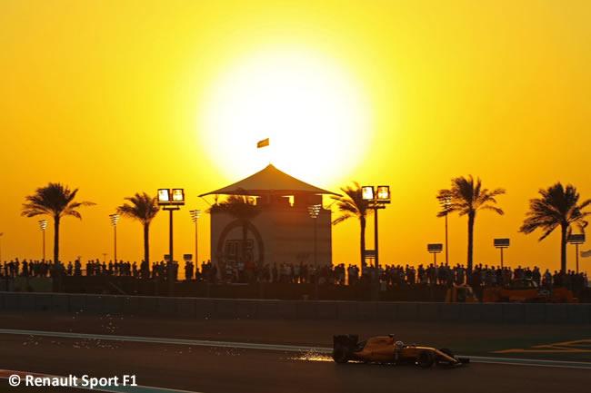 Renault Sport - Calificación GP Abu Dhabi 2016