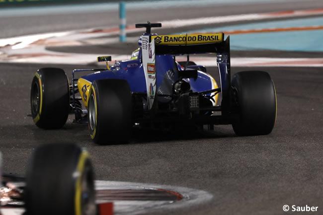 Sauber - Carrera GP Abu Dhabi 2016
