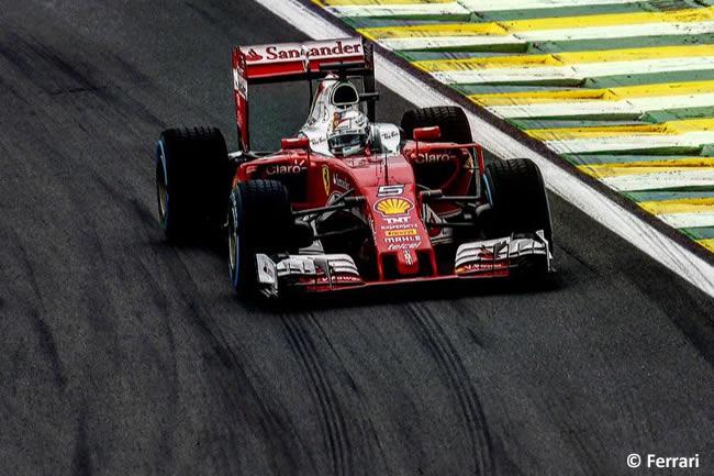 Sebastian Vettel - Scuderia Ferrari - GP Brasil 2016 - Domingo