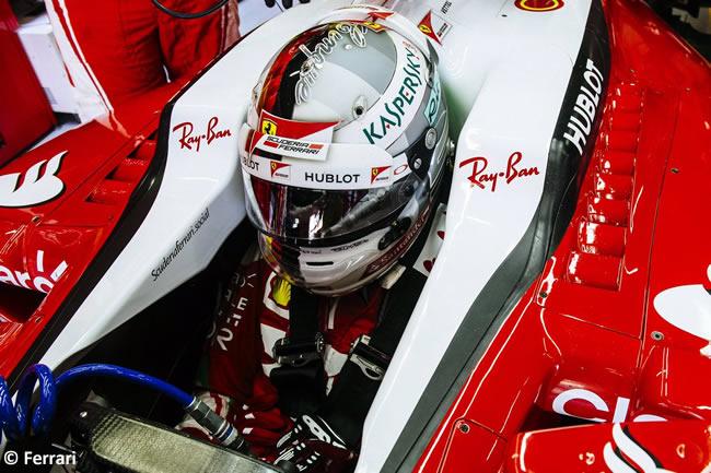 Sebastian Vettel - Scuderia Ferrari - GP Brasil 2016 - Viernes