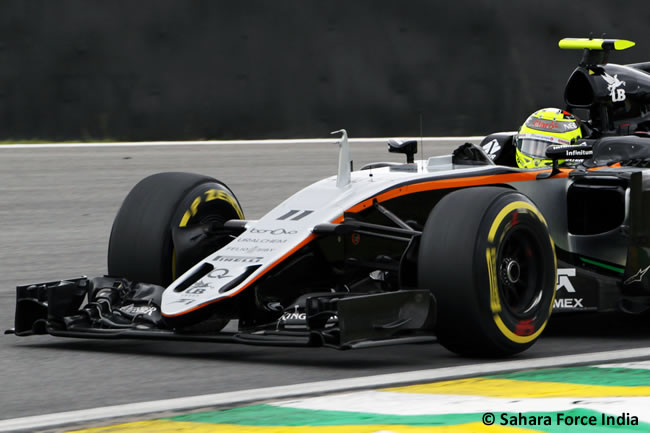 Sergio Pérez - Force India - GP Brasil 2016 - Sábado
