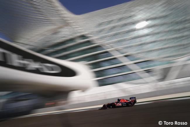 Toro Rosso - Calificación GP Abu Dhabi 2016