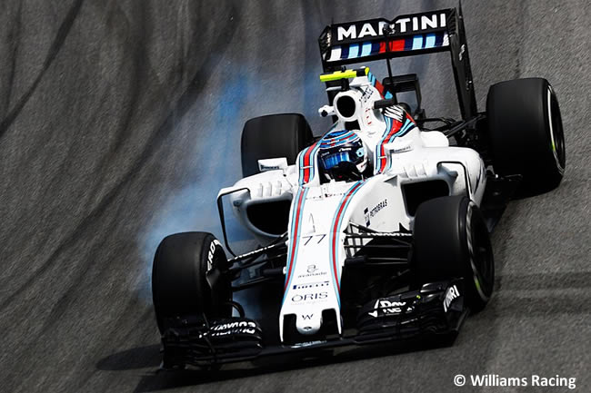 Valtteri Bottas - Williams - GP Brasil 2016 - Viernes