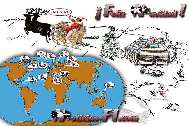 Felicitación Navidad 2016- www.noticias-f1.com