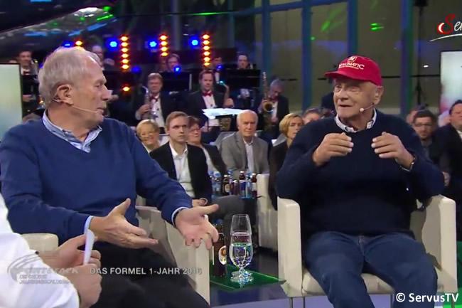 Niki Lauda - Helmut Marko - Servus TV