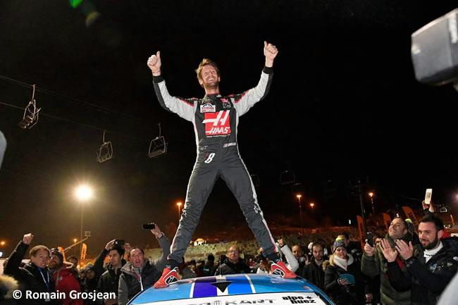Romain Grosjean - Ganador Trofeo Andros