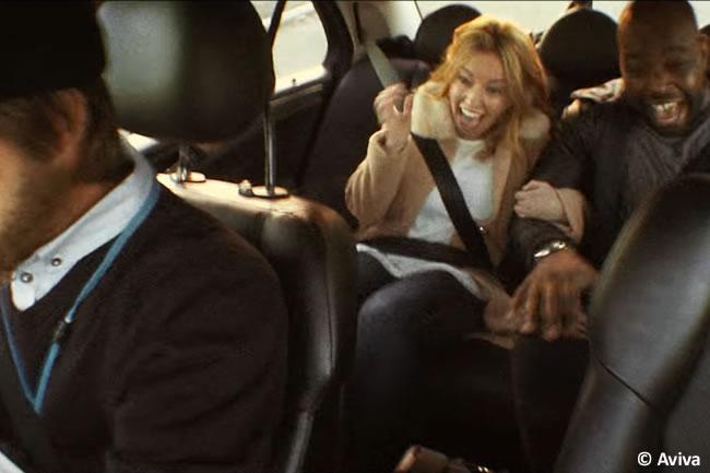 Aviva - David Coulthard - Taxi