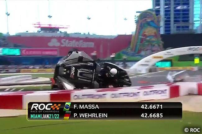 Accidente Pascal Wehrlein 2017