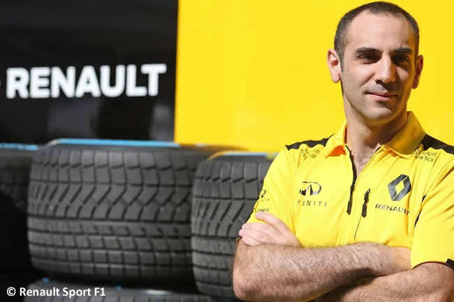 Cyril Abiteboul - Renault