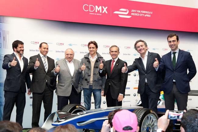 Esteban Gutiérrez - México ePrix - Fórmula E