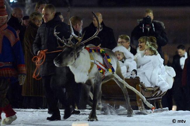 Mika Hakkinen - Valtteri Bottas - Trineo