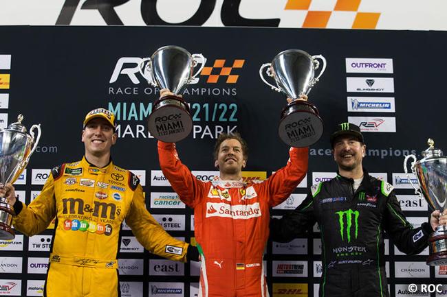 Sebastian Vettel - ROC - victoria - Copa de naciones 2017
