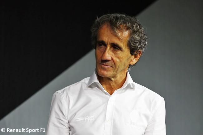 Alain Prost - Renault 2017