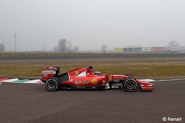 Giovinazzi Fiorano - Ferrari SF15-T