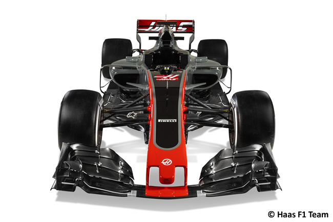 Haas VF-17 - 2017 - Frontal