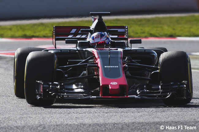 Haas VF-17 - 2017 - Pista