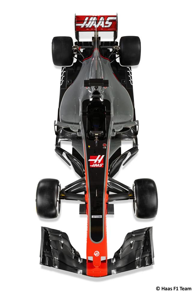 Haas VF-17 - 2017 - Top