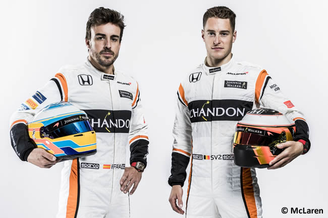McLaren - Honda - MCL32 -Fernando Alonso - Stoffel Vandoorne