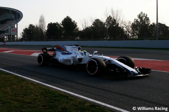 Felipe Massa - Williams - Test 1 Barcelona - Pretemporada 2017 - Día 1