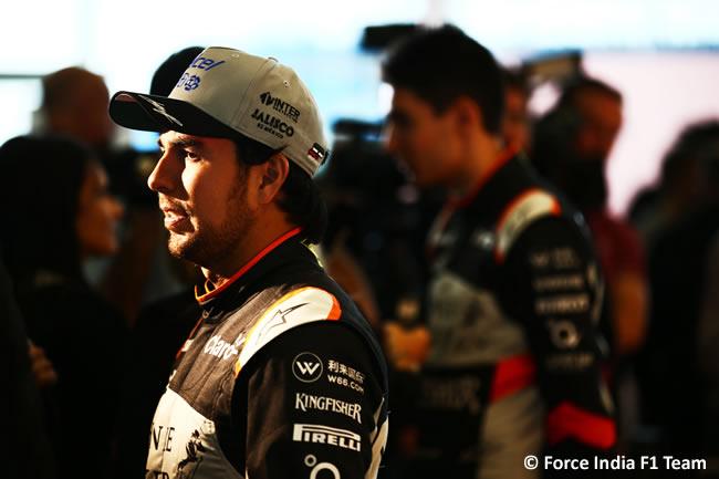 Force India F1 Team - Presentación VJM10 - Sergio Pérez