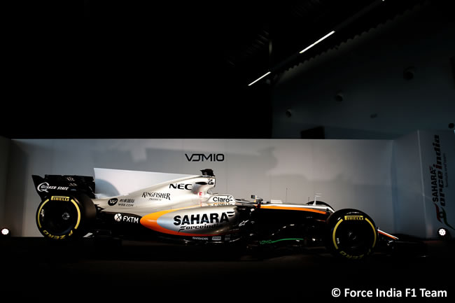 Force India F1 Team - Presentación VJM10