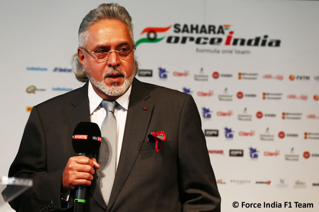 Force India F1 Team - Presentación VJM10 - Dr. Vijay Mallya