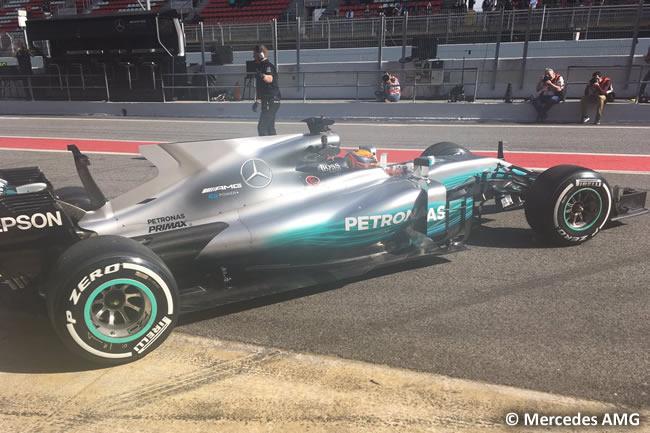 Lewis Hamilton - Mercedes AMG - Test 1 Barcelona - Pretemporada 2017 - Día 1